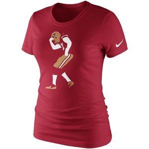NWT! Nike Colin Kaepernick 49ers Ladies